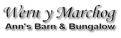 Wern y Marchog ~ Ann's Barn & Bungalow Logo